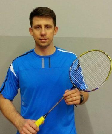 Mateusz Mikołajczak, trener badmintona, squasha, Ponznań, Badmintonowo.pl