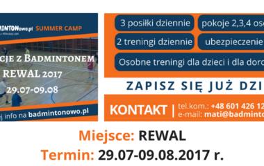 Obóz letni – REWAL 2017